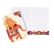i heart eco Little Notebook in Safari Sunset
