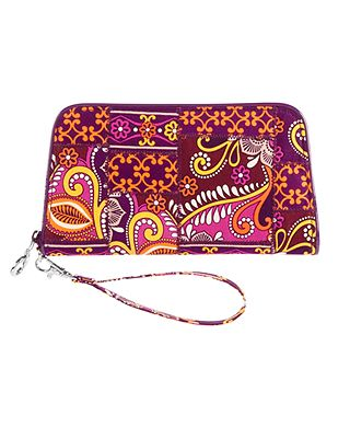 Zip Around Wristlet