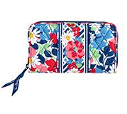 Accordion Wallet in Summer Cottage