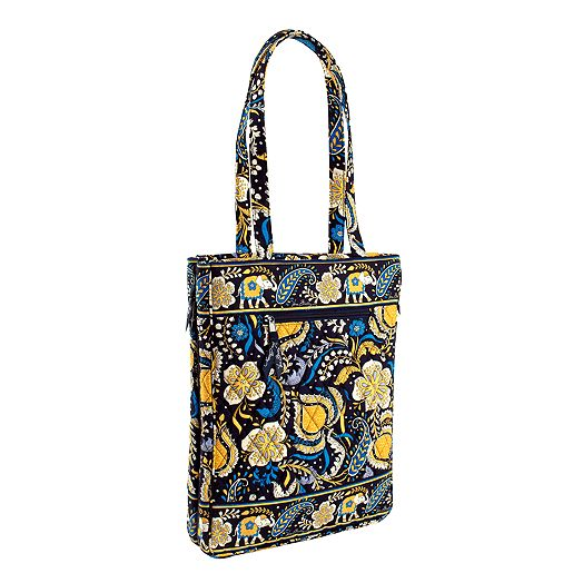 Laptop Travel Tote in Ellie Blue