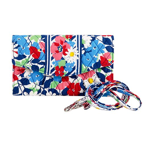 Strap Wallet in Summer Cottage