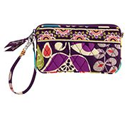 Wristlet in Plum Crazy