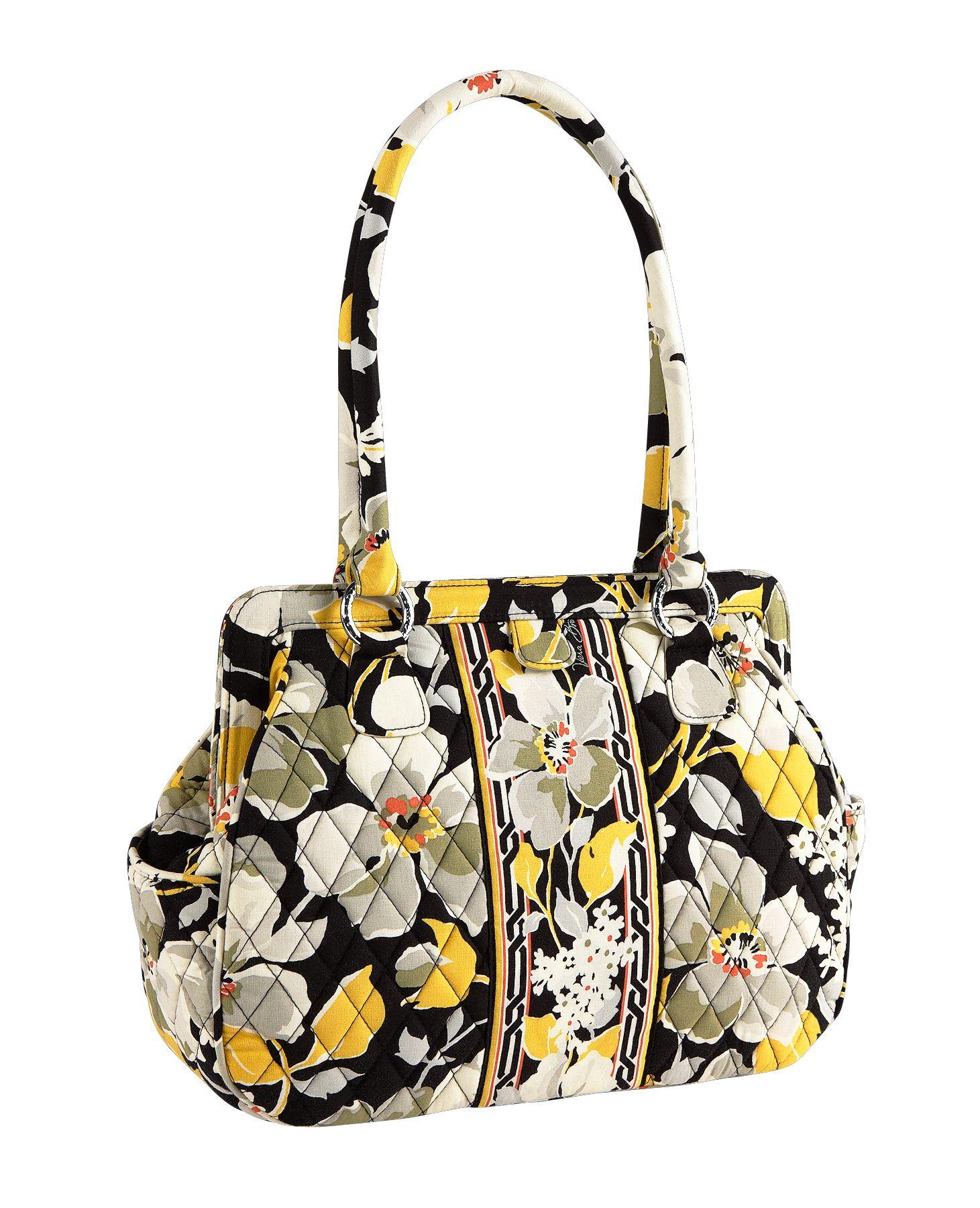 Vera Bradley Frame Bag Satchel | eBay