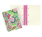 Mini Notebook with Pocket in Tutti Frutti