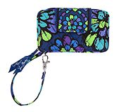 Smartphone Wristlet in Indigo Pop