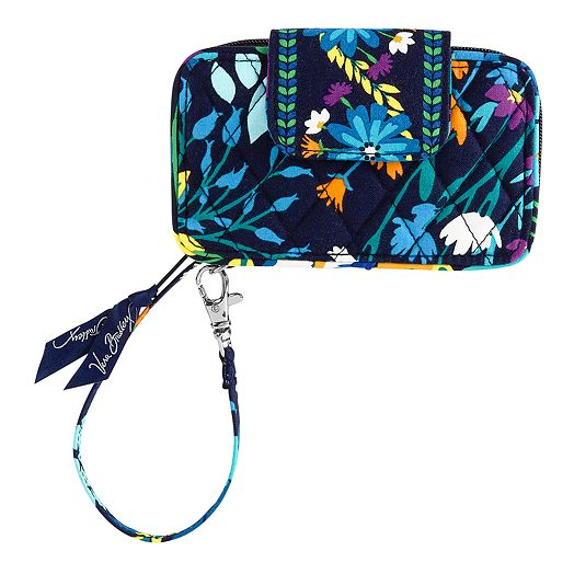 Smartphone Wristlet in Midnight Blues