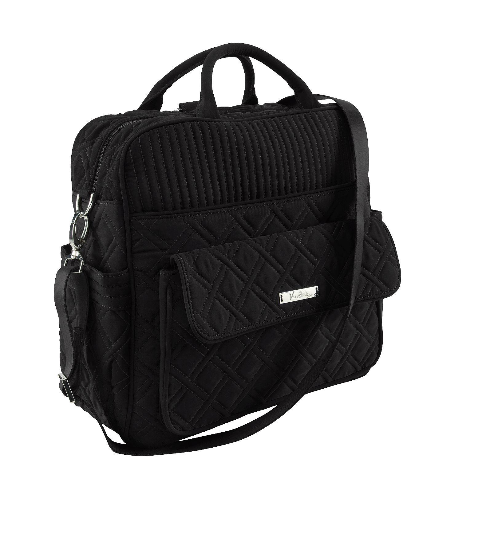 vera bradley handbags vera bradley baby bag in classic black. Black Bedroom Furniture Sets. Home Design Ideas