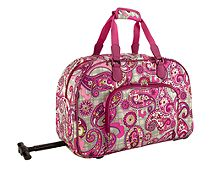 Carry-On Rolling Satchel
