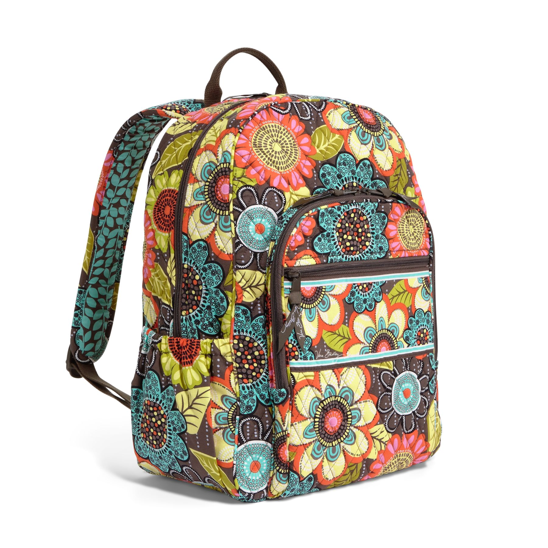 Vera Bradley's trademark style is fashionable quilted cotton bags in all sizes in shapes. Perfect for any professional or casual look, Vera Bradley purses come in crossbody, satchel, tote bag, backpack and shoulder bag styles. Vera Bradley diaper bags provide a practical, yet .
