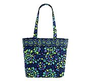 Three-O Tote in Indigo Pop