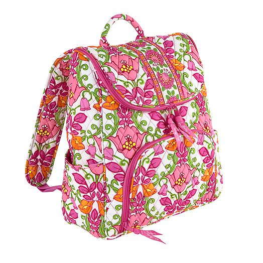 Double Zip Backpack in Lilli Bell
