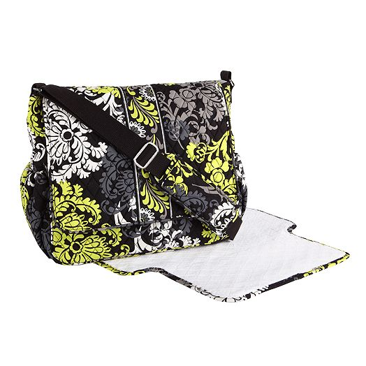 Messenger Baby Bag in Baroque