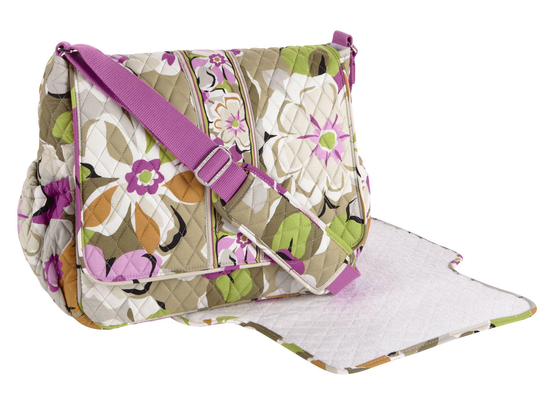 vera bradley messenger baby bag. Black Bedroom Furniture Sets. Home Design Ideas