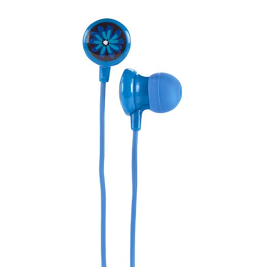 Ear Buds in Midnight Blues