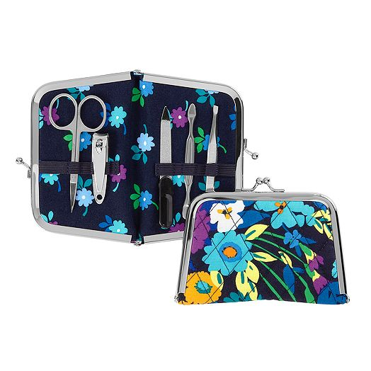 Kisslock Manicure Set in Midnight Blues