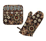 What's Cookin' Potholder Set in Canyon