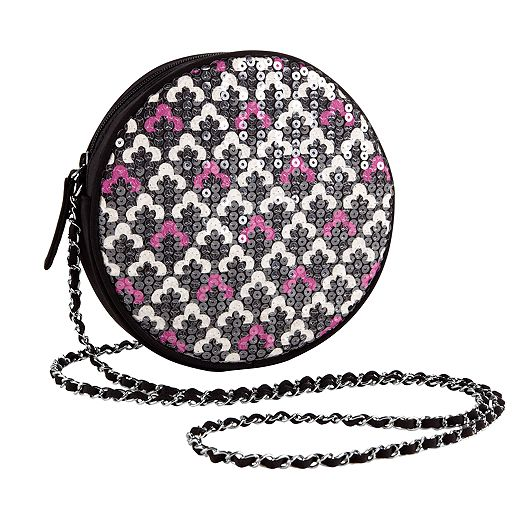 Shimmer Evening Bag in Canterberry Magenta