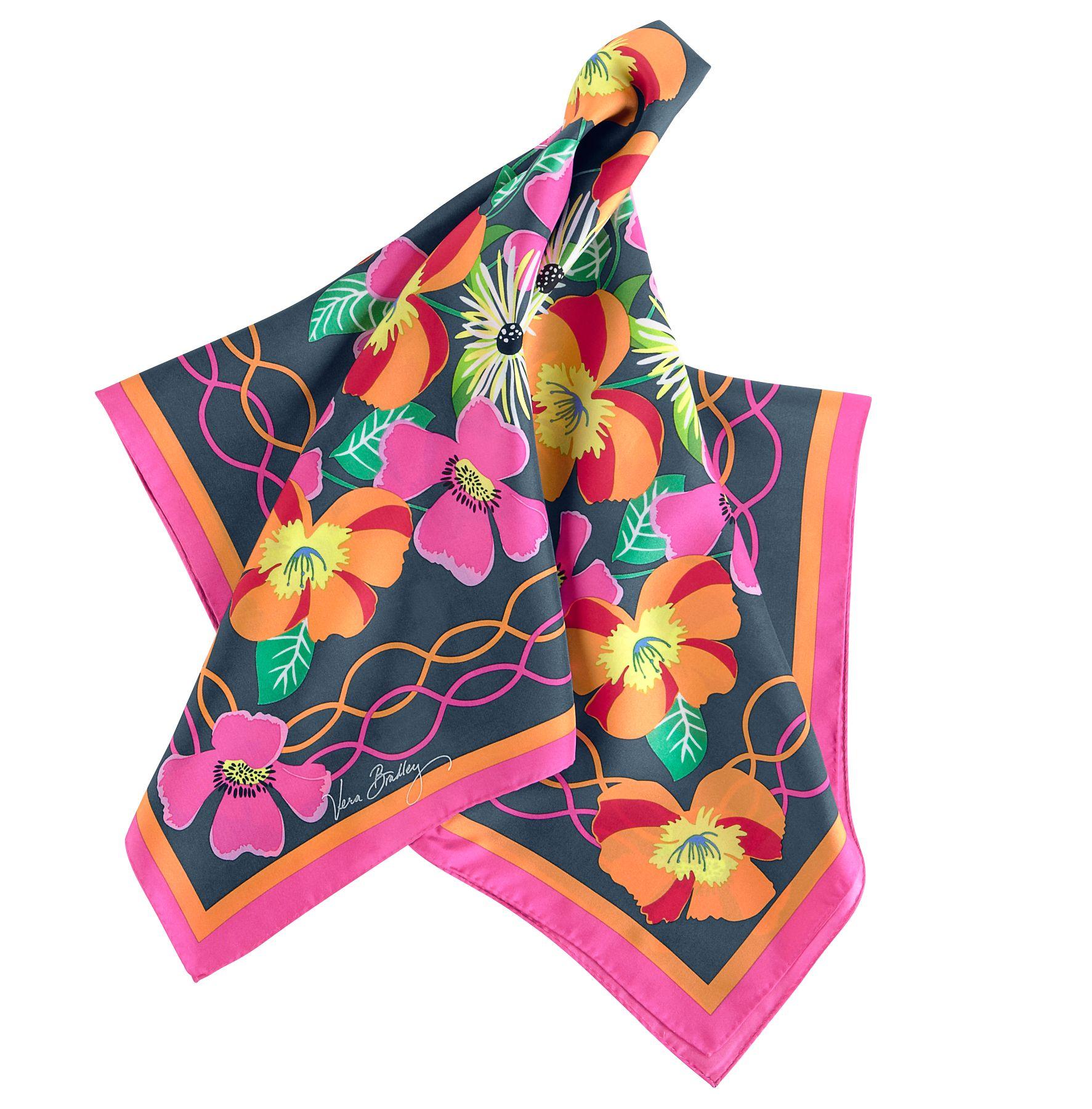 vera bradley silk scarf ebay
