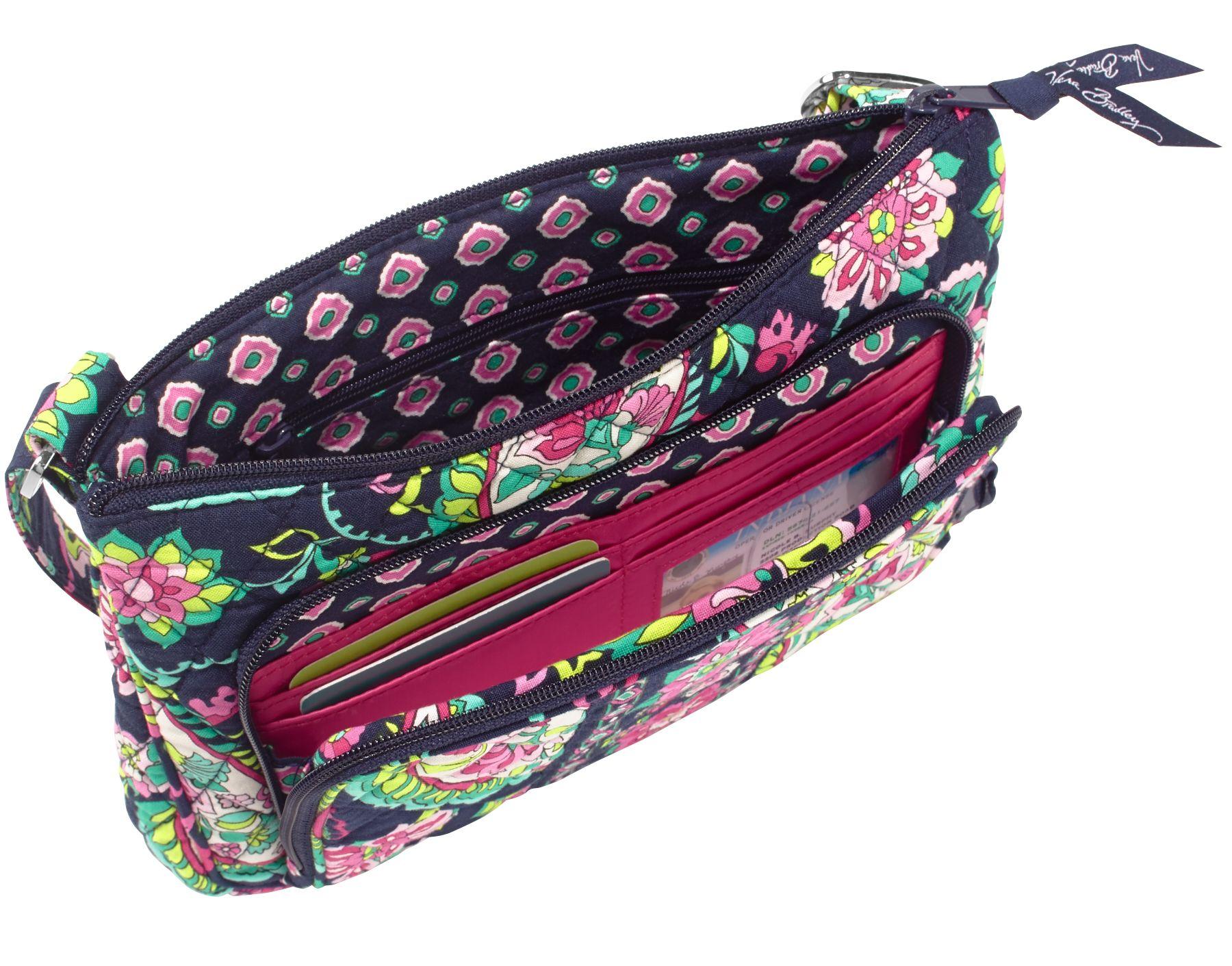 Vera Bradley Little Hipster Crossbody Bag | EBay