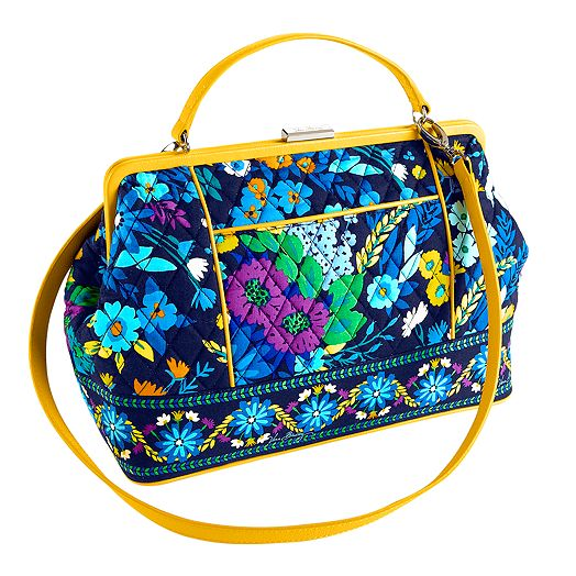 Barbara Frame Bag in Midnight Blues