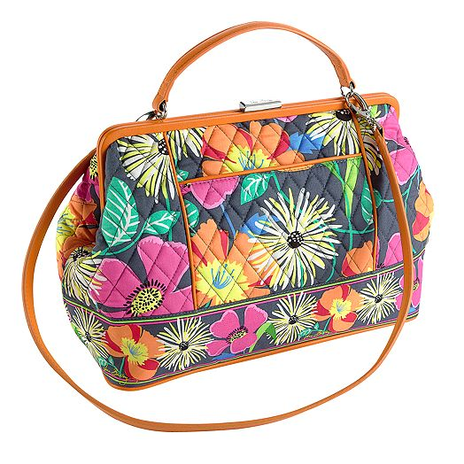 Barbara Frame Bag in Jazzy Blooms