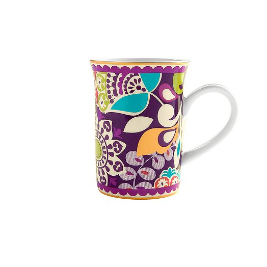 Porcelain Mug in Plum Crazy