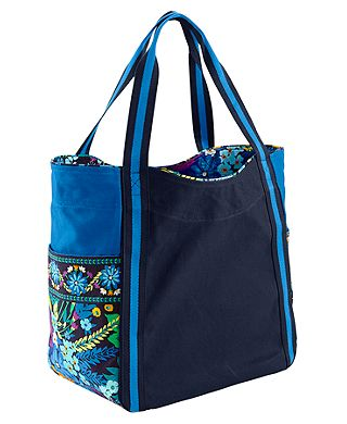 Large Colorblock Tote