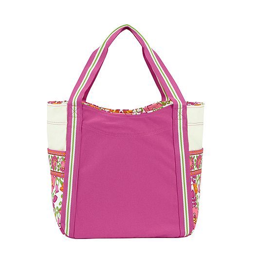 Large Colorblock Tote in Lilli Bell