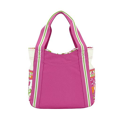 Small Colorblock Tote in Lilli Bell