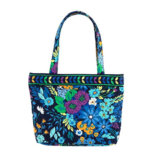 Petite Tote in Midnight Blues
