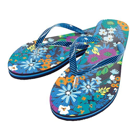 Flip Flops in Midnight Blues