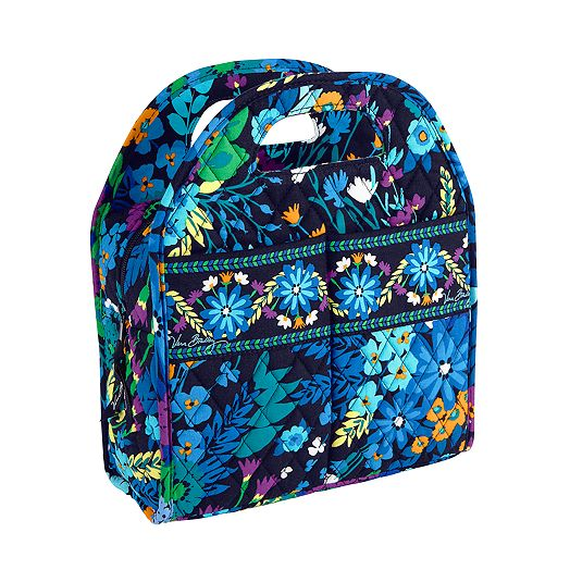 Lunch Tote in Midnight Blues