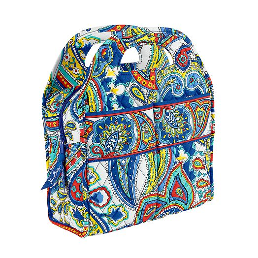 Lunch Tote in Marina Paisley