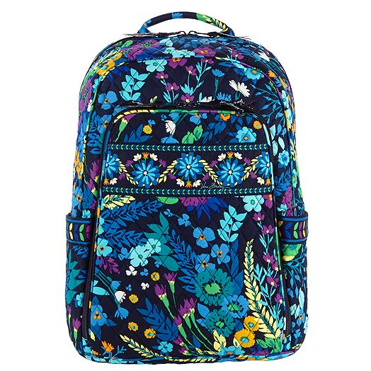Laptop Backpack in Midnight Blues