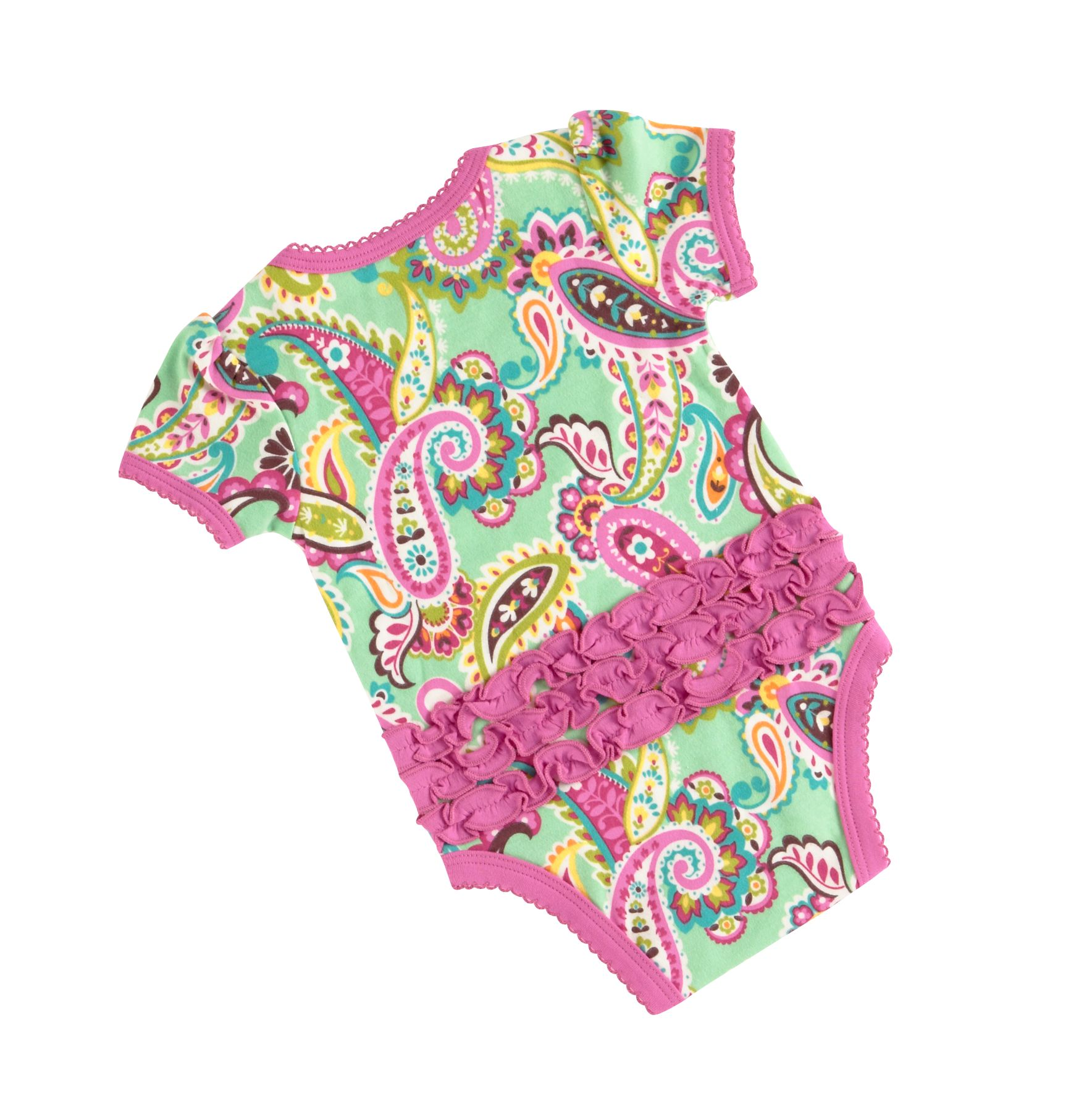 Vera bradley infant baby girl ruffle bodysuit ebay