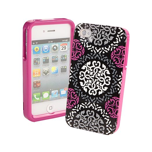 Frame Case for iPhone 4/4S in Canterberry Magenta