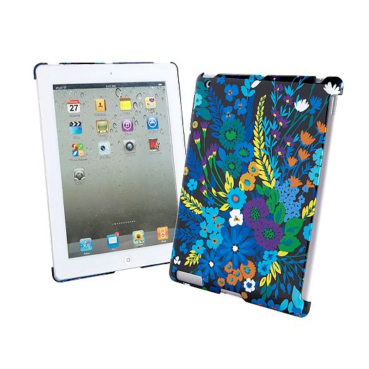 Snap On Case for iPad in Midnight Blues