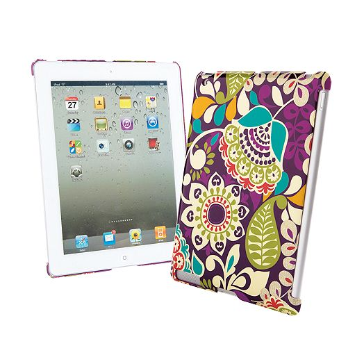 Snap On Case for iPad in Plum Crazy