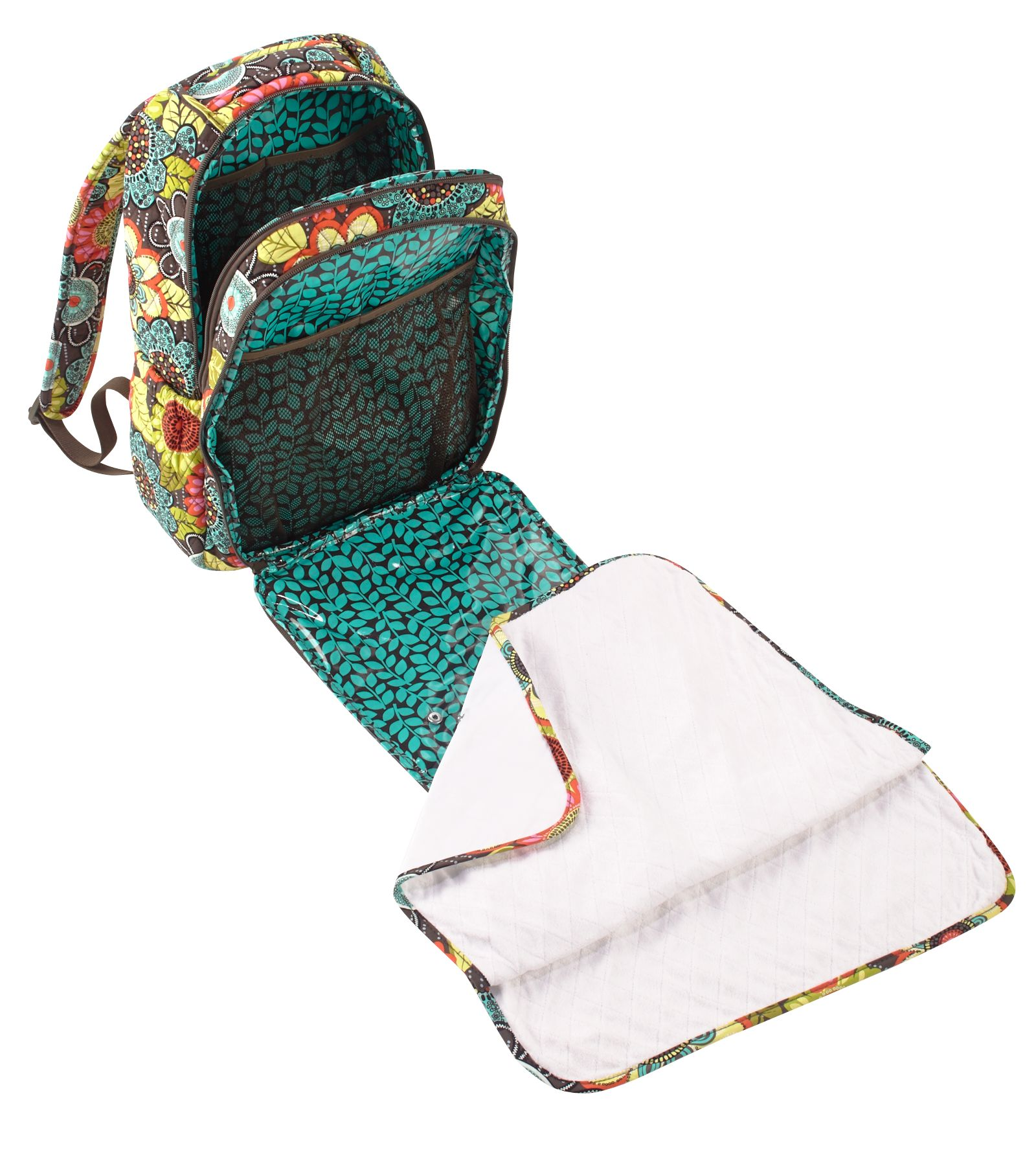 vera bradley backpack baby bag ebay. Black Bedroom Furniture Sets. Home Design Ideas