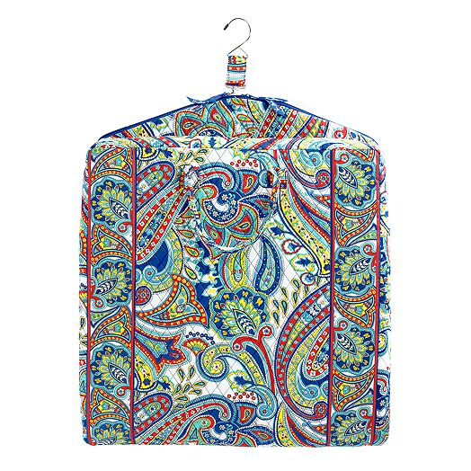 Garment Bag in Marina Paisley
