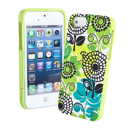 Slide Frame Case for iPhone 5 in Lime's Up