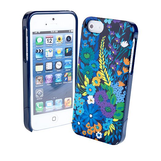 Slide Frame Case for iPhone 5 in Midnight Blues