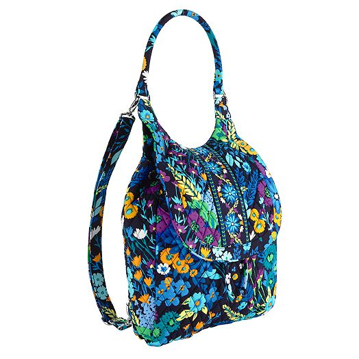 Backpack Tote in Midnight Blues