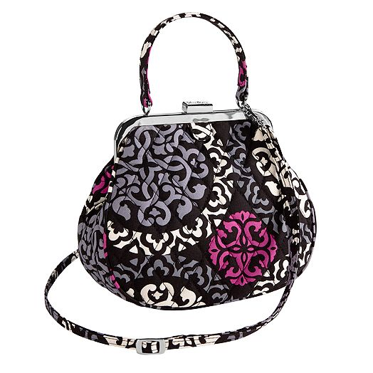 Mini Frame Crossbody in Canterberry Magenta
