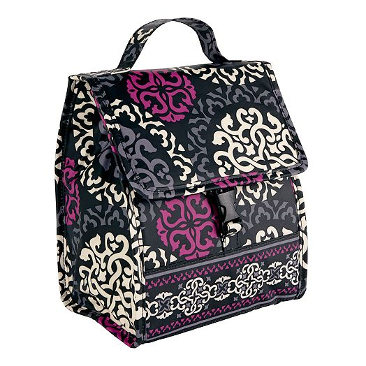Lunch Sack in Canterberry Magenta