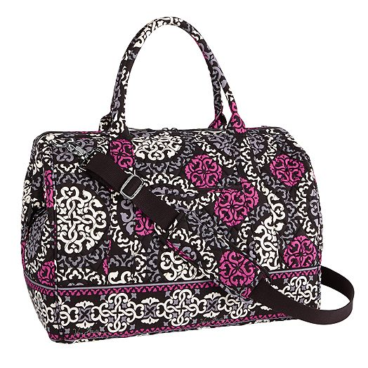 Frame Travel Bag in Canterberry Magenta