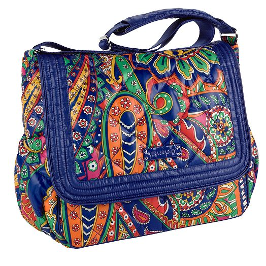 Puffy Messenger in Venetian Paisley