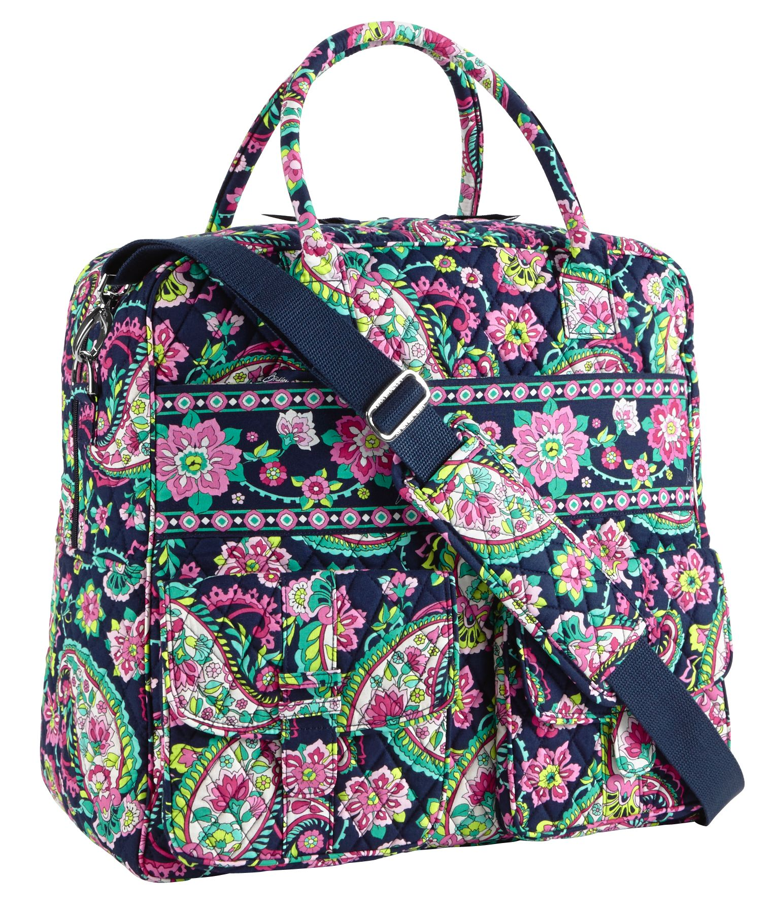 Vera Bradley Grand Cargo Bag Travel Bag | eBay