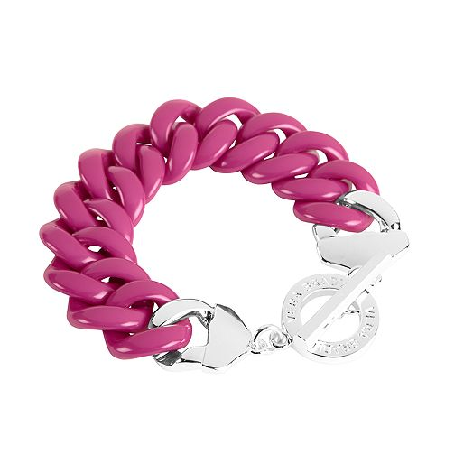 Colorful Link Bracelet in Canterberry Magenta