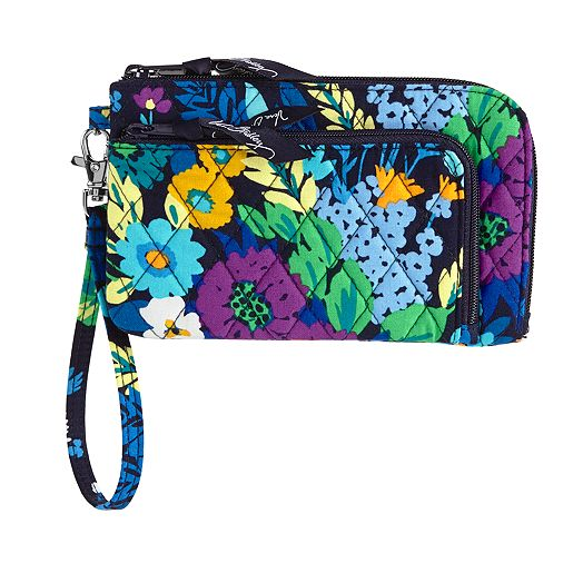 Zip Zip Wristlet in Midnight Blues